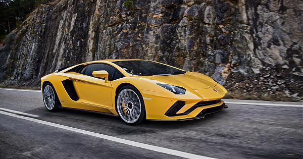 西班牙热烈派犇牛Lamborghini Aventador S