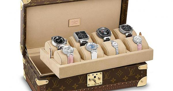 将腕錶珍藏起来!LV全新錶盒