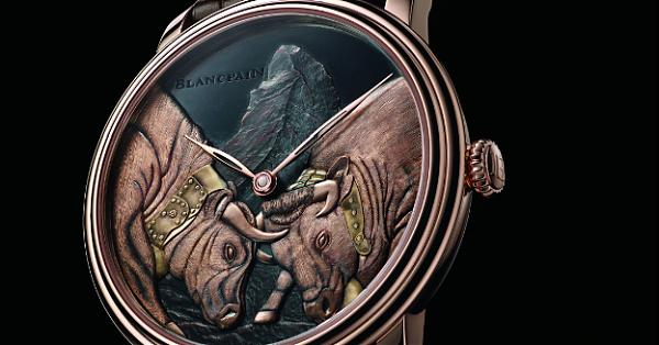 [Basel 2017]工藝的極致 BLANCPAIN藝術大師「雙牛爭王」腕錶