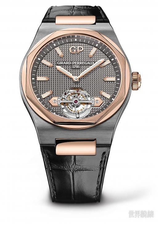 優雅的休閒感 GP Laureato陀飛輪腕錶;陀飛輪;Laureato;GIRARD-PERREGAUX;芝柏