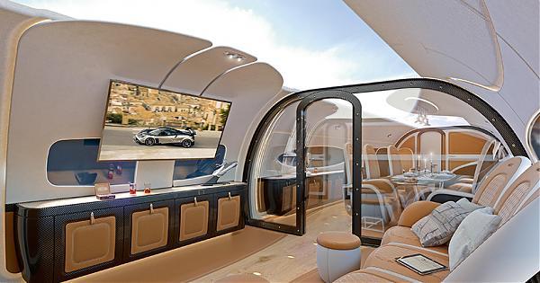 是真的天空!空中巴士x超跑製造商合力打造「天空頂棚」