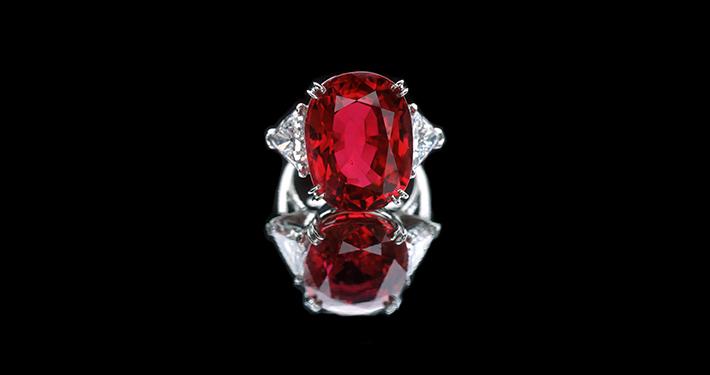 传奇鸽血红宝石「卡门・露西亚」  歌颂美好的爱情