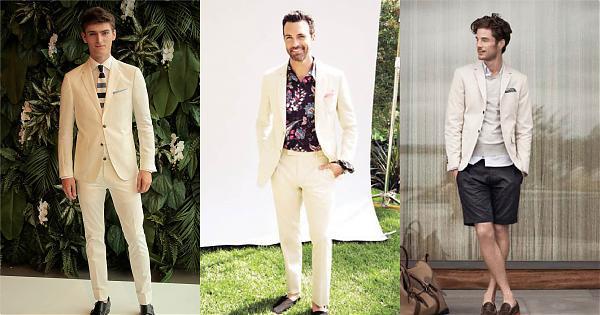彷若雨後的清新感,米白色西裝外套穿搭的4種氣質妙招