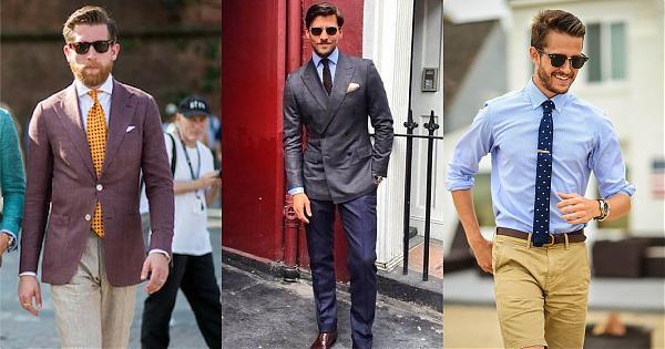 日常著裝不煩惱,以圓點領帶做最佳點綴的5種範例