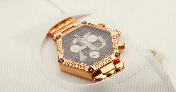 要「錶」現乾脆改良西裝  時尚教父Angelo Galasso的腕錶哲學