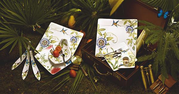 Villeroy & Boch的華麗冒險  Amazonia雨林餐瓷