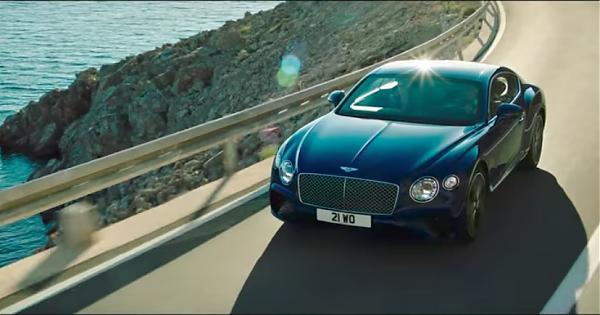 存在感十足的第三代賓利Continental GT