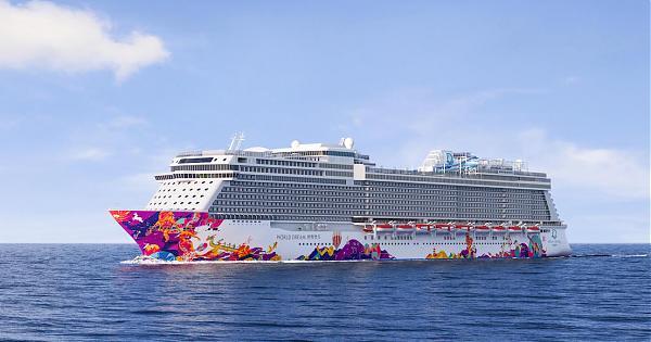 新船出塢 頂級郵輪世界夢號彩繪夢想