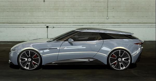 英國的驕傲  電動超跑概念車款Alcraft GT