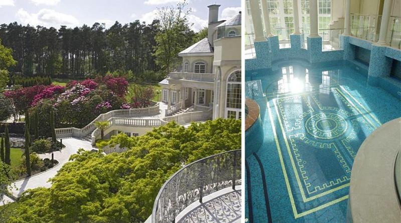 五座游泳池!超越庄园酒店的奢华豪宅 爱敦阁别墅