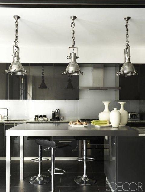 20個以黑色為主角的廚房設計