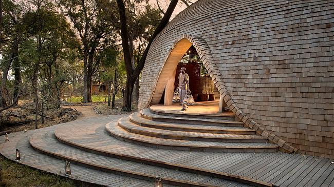 在非洲奢華荒野酒店體驗純粹的野性之美 &Beyond Sandibe Okavango