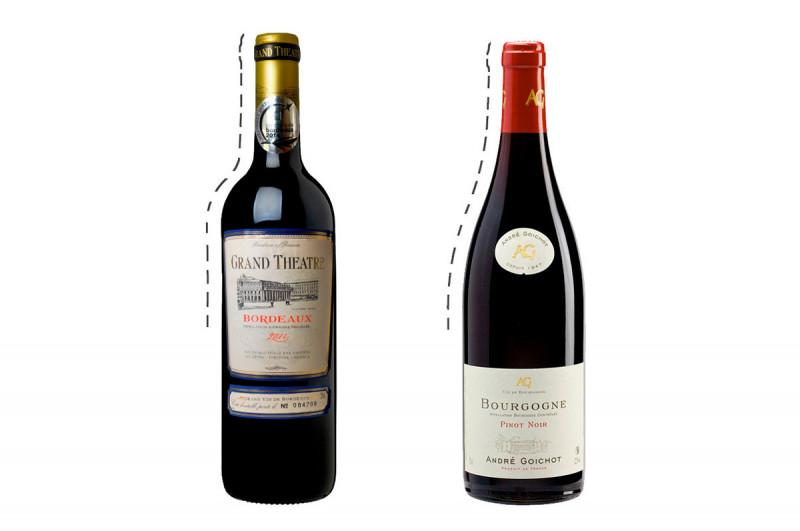 法国葡萄酒产地-波尔多与勃根地的分别?