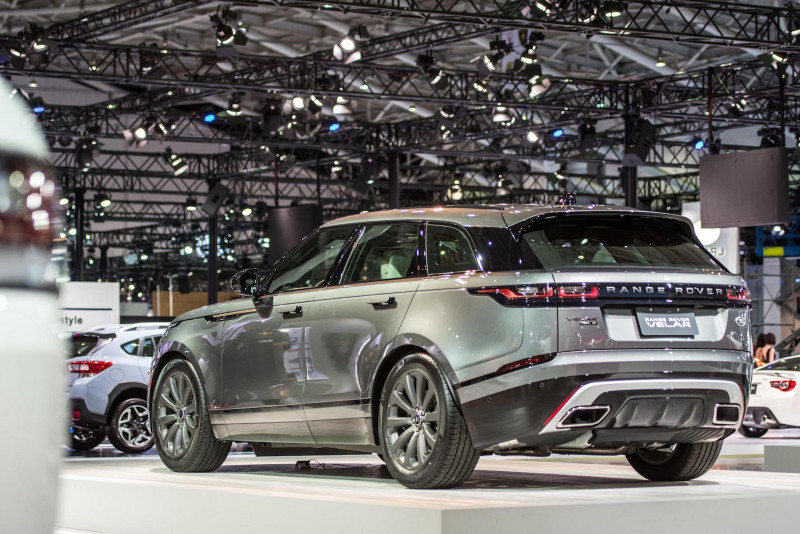 Land Rover 演繹造車工藝 Range Rover Velar登場2018世界新車大展