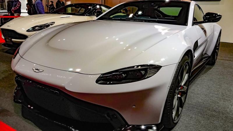 难以驯服Aston Martin Vantage