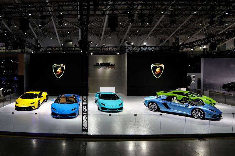 指标进化Lamborghini Aventador S Roadster 台北车展首次登台