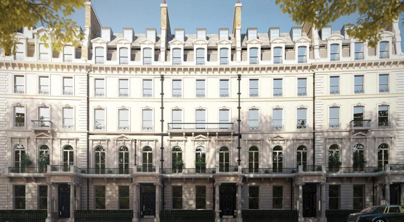 倫敦超一流房產Belgravia Gate的華麗轉身