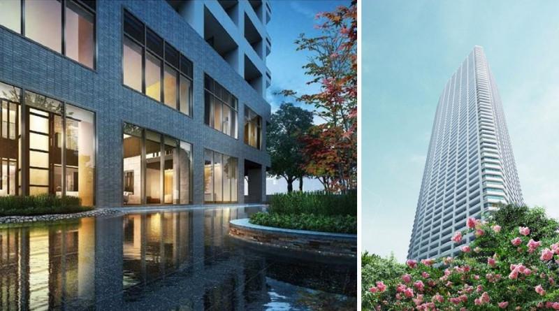 全日本樓層最高公寓大樓 The Parkhouse 西新宿tower60
