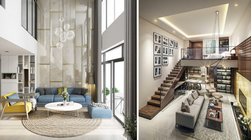 奢华感大加成!20间挑高客厅设计