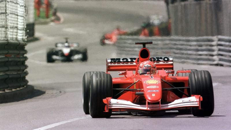 舒马克的冠军座驾 Ferrari F2001以750万美元卖出