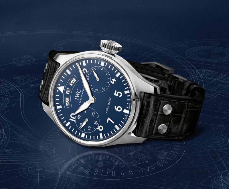 意义比看起来的更贵重 IWC Big Pilot's Watch年历腕表150週年纪念版
