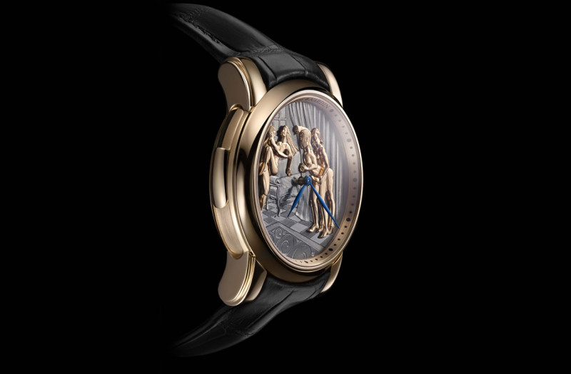 腕表也有18禁 雅典表 经典系列窥视者腕表