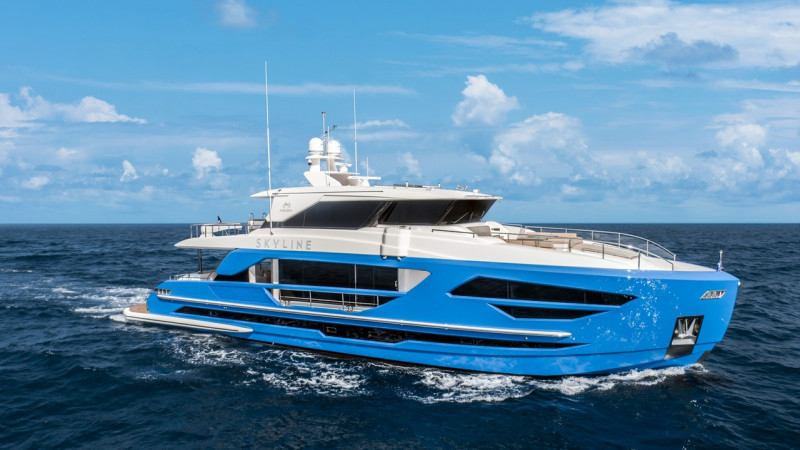 Horizon FD87 Skyline 前进3月美国棕櫚湾船展