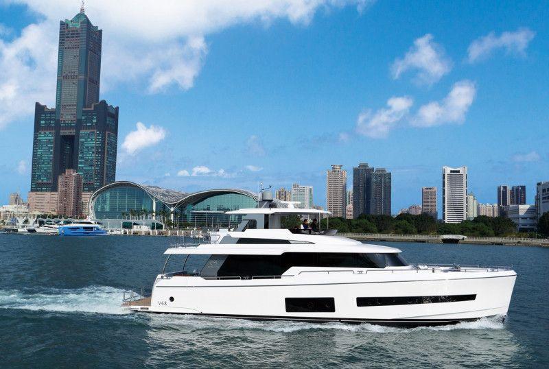耗费九年规划大空间 台美纽联手打造游艇Horizon V68
