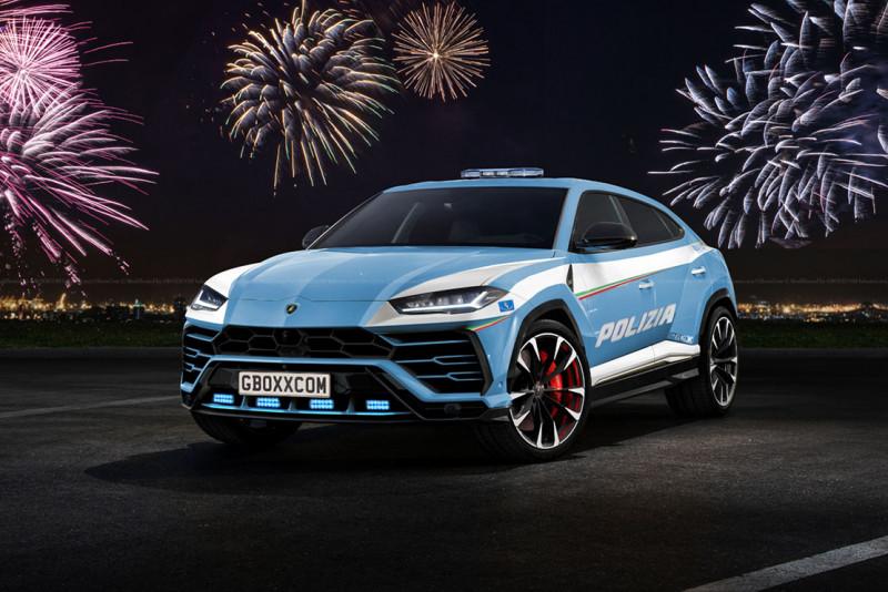 Lamborghini Urus 可望成为义大利警用车