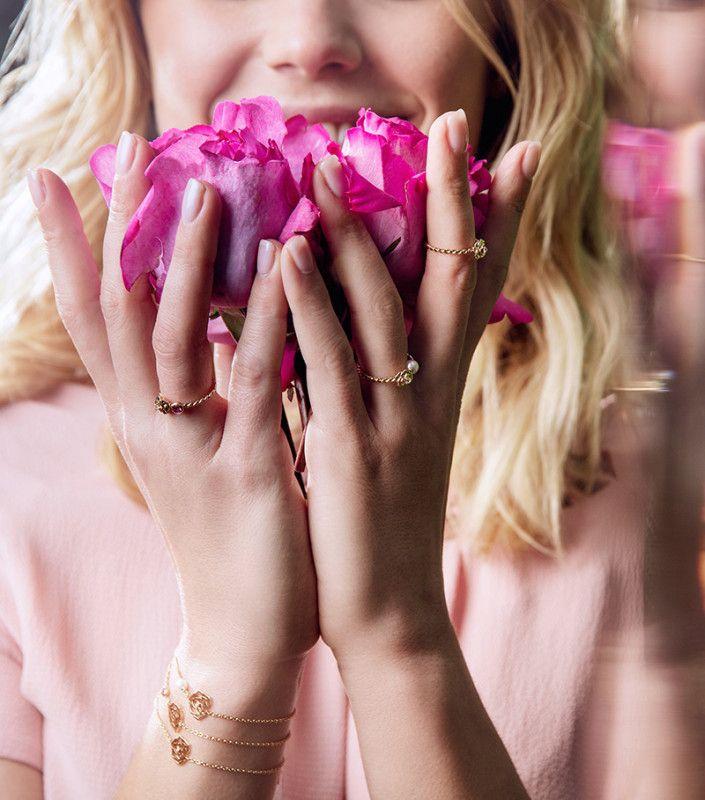 传递绵绵情意  Piaget Rose珠宝系列