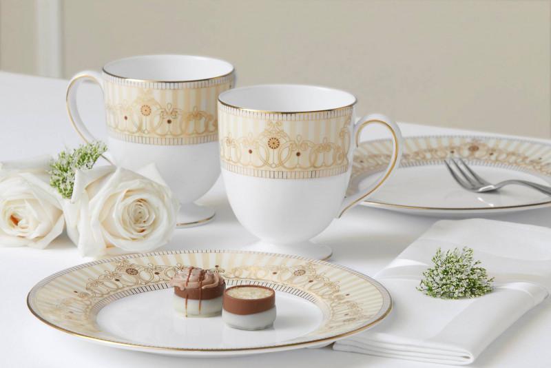 名流餐桌上的五大顶级餐瓷品牌