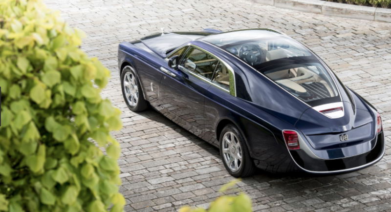 手工當代逸品 Rolls-Royce Sweptail要價4.1億台幣