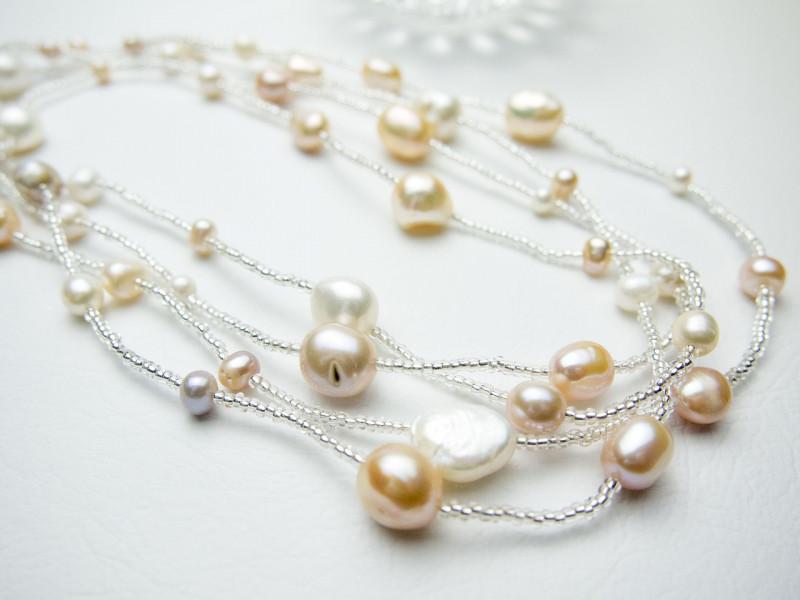 珍珠简易保养概念