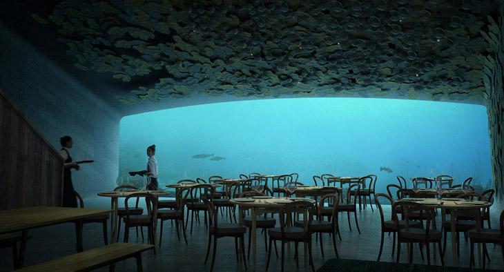 欧洲首家、新海底餐厅在挪威!