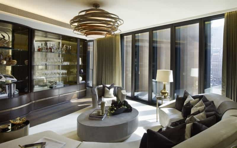 伦敦市中心最顶级公寓 海德公园一号
