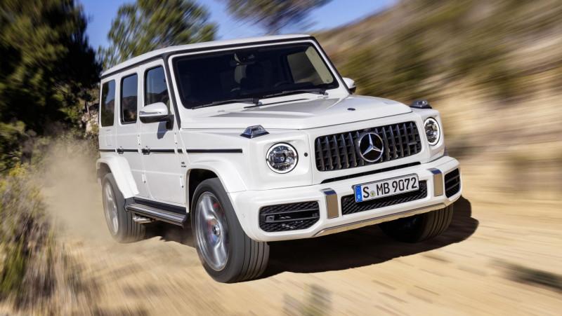 动力高达585匹马力  新世代经典Mercedes-AMG G63