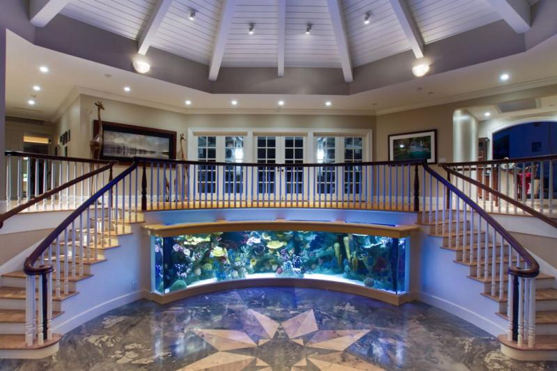 室内微景观!16个创意水族缸设计