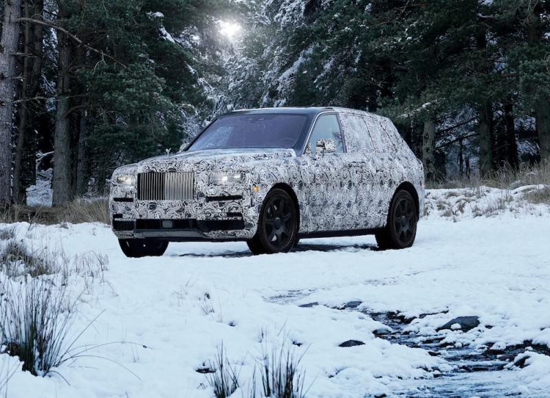 劳斯莱斯Rolls-Royce全地形史诗新作 同名无瑕传奇美钻Cullinan