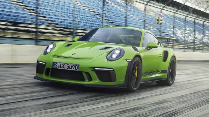 520hp最大马力 Porsche 911 GT3 RS道路版厂车登场