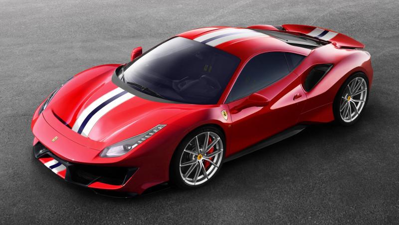 以赛道Pista为名 法拉利Ferrari 488公路竞技版发表
