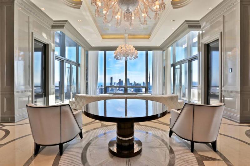 俯瞰多伦多全景 四季酒店顶层公寓50 Yorkville Avenue