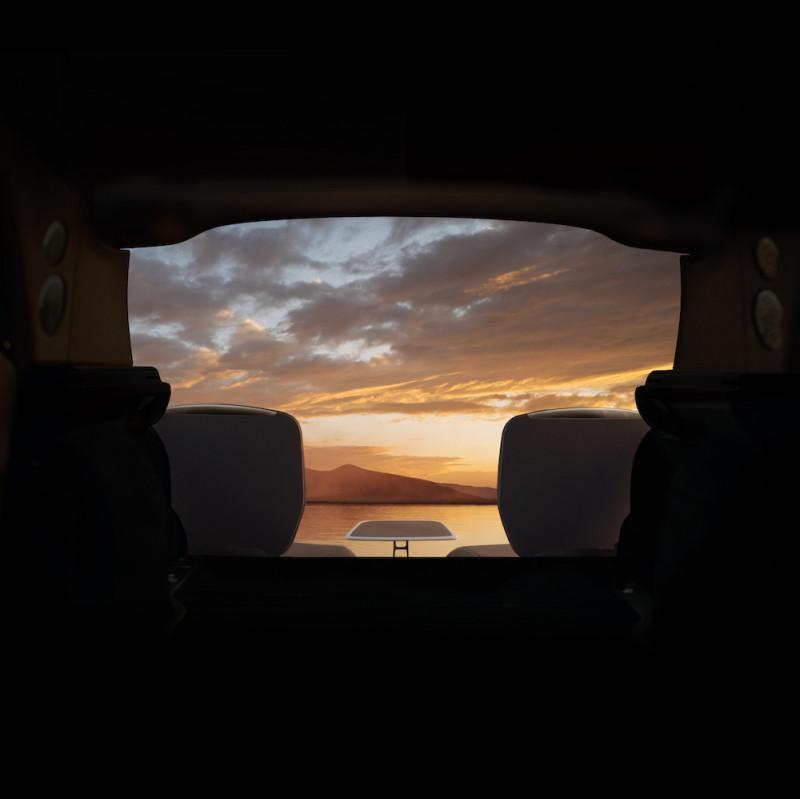 劳斯莱斯的浪漫   Rolls-Royce Cullinan观景休旅家具