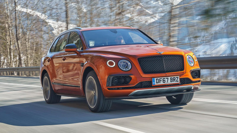 非凡運動格調 Bentley Bentayga V8