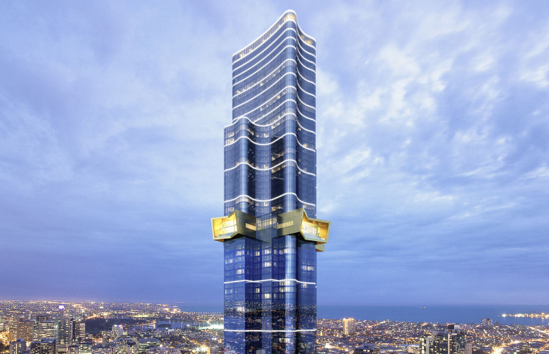 南半球最高住宅!澳洲摩天樓Australia 108