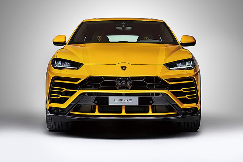 SUV+藍寶堅尼超跑DNA Lamborghini Urus接單破百輛