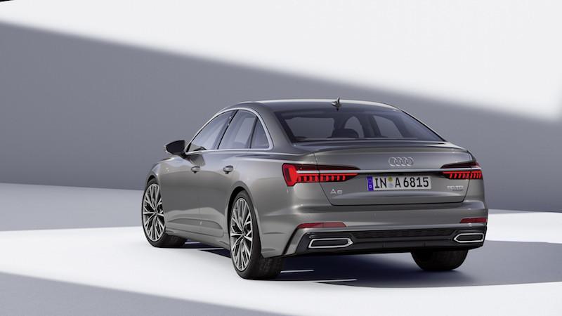 2018日内瓦车展四环鉅献  Audi A6 Sedan