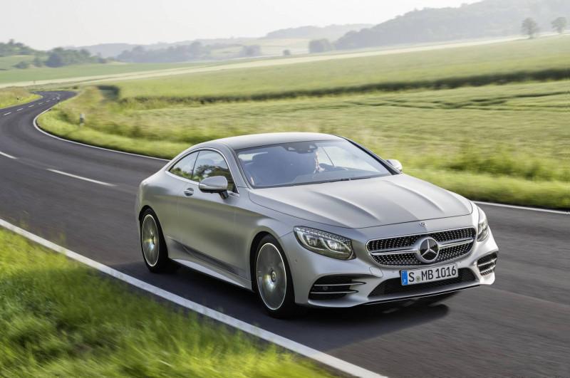 2017年度销售王Mercedes-Benz S-Class  全新Coupé 款即将登台