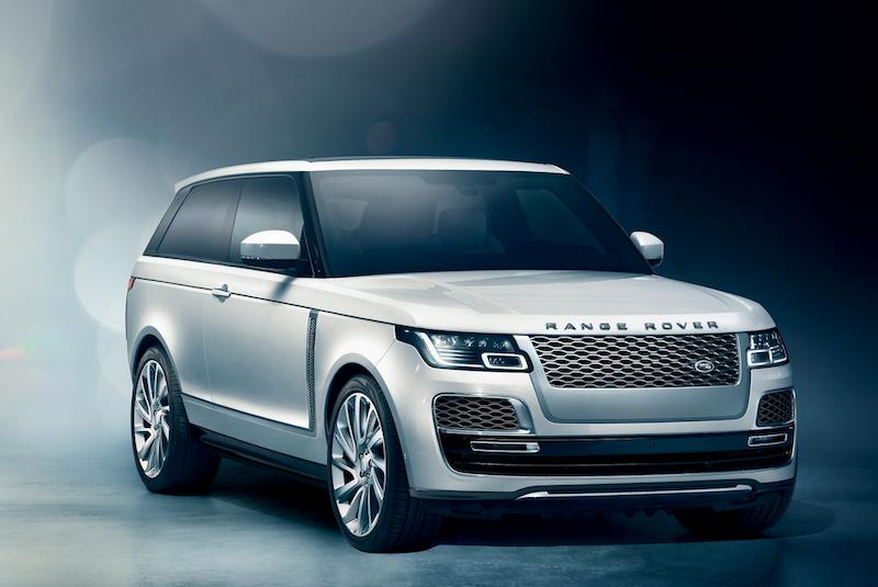 對抗勞斯萊斯和賓利 Land Rover Range Rover SV Coupe雙門越野跑旅