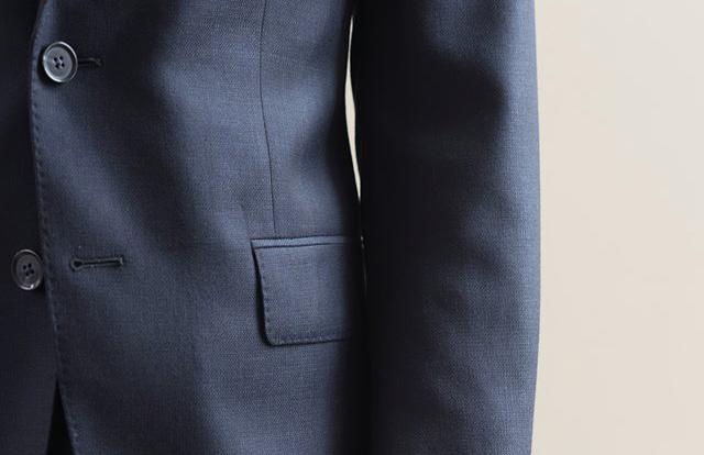 为什麼新西装的口袋都是被缝起来的?