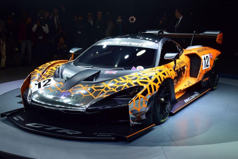 日內瓦車展驚喜 McLaren Senna GTR Concept加碼上場